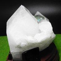 ブラジル・トマスゴンサガ産水晶クラスター レインボー有り!写真現物をお届け