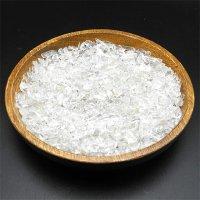 ブレスレットや天然石もゆったり置ける!パワーストーン浄化セットM(水晶さざれ石+ウッドトレイM)