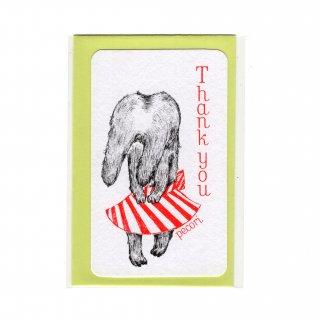 Thank you Pecori(mini card)