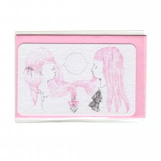 girls talk(mini card)