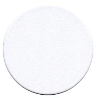 コースター【白丸】(10枚セット)