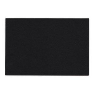 ぶあつい紙 ポストカード(黒)