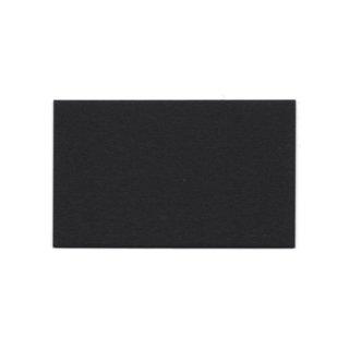 ぶあつい紙名刺(黒)20枚