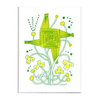 世界の縁起ものミニノート 聖ブリジッドクロス