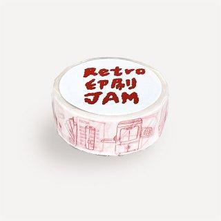 オリジナルマステ RETRO印刷JAM台湾
