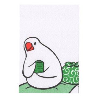 ポストカード(ふろしき文鳥C)12枚セット