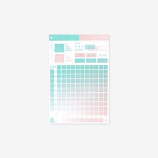 2色の混色見本カードセット【A】<img class='new_mark_img2' src='https://img.shop-pro.jp/img/new/icons25.gif' style='border:none;display:inline;margin:0px;padding:0px;width:auto;' />