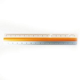 滑らない定規 ピタットルーラー 15cm