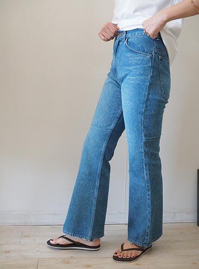 PHEENY remake like flare jeans