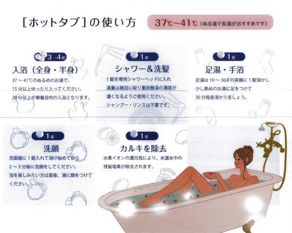 薬用ホットタブ重炭酸湯【10錠】 医薬部外品