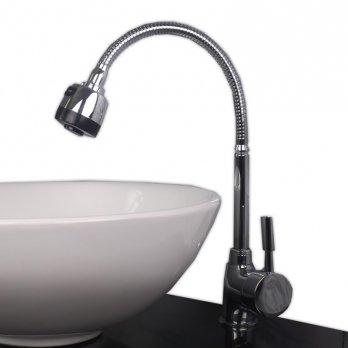 Ambest キッチン台所用シャワー混合水栓蛇口自由栓 FK1240