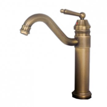 Ambest アンティーク調レトロなシングルレバー混合水栓立水栓 FS0270