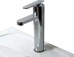 Ambest洗面手洗ボウル用円形31cmシングルレバー混合水栓立水栓FS0304