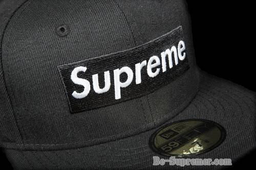 87441a017af Supreme シュプリーム 16FW R.I.P. Box Logo New Era Cap RIP ニューエラコラボボックスロゴキャップ ブラック