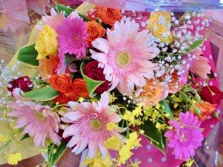 お花屋さんにおまかせ花束