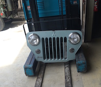Jeep J58 Narrow grille
