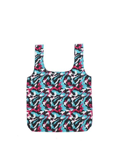 初音ミク / Camo Packable Bag