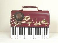 ピアノと音符 2WAYバッグ