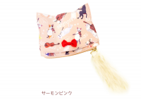 <img class='new_mark_img1' src='https://img.shop-pro.jp/img/new/icons13.gif' style='border:none;display:inline;margin:0px;padding:0px;width:auto;' />キャットシンフォニカ 猫耳コインケース サーモンピンク
