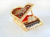 ジュエリーボックス グランドピアノ ブラック