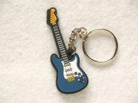 エレキギター ラバーキーホルダー