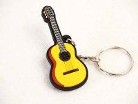クラシックギター ラバーキーホルダー