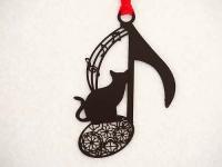 音楽ブックマーク 猫と音符