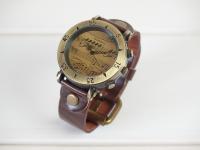 ヴィンテージ風 楽譜腕時計