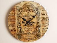 ヴィンテージ風メンデルスゾーンの音楽時計 無言歌集
