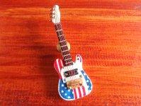 USA エレキギター ピンバッジ