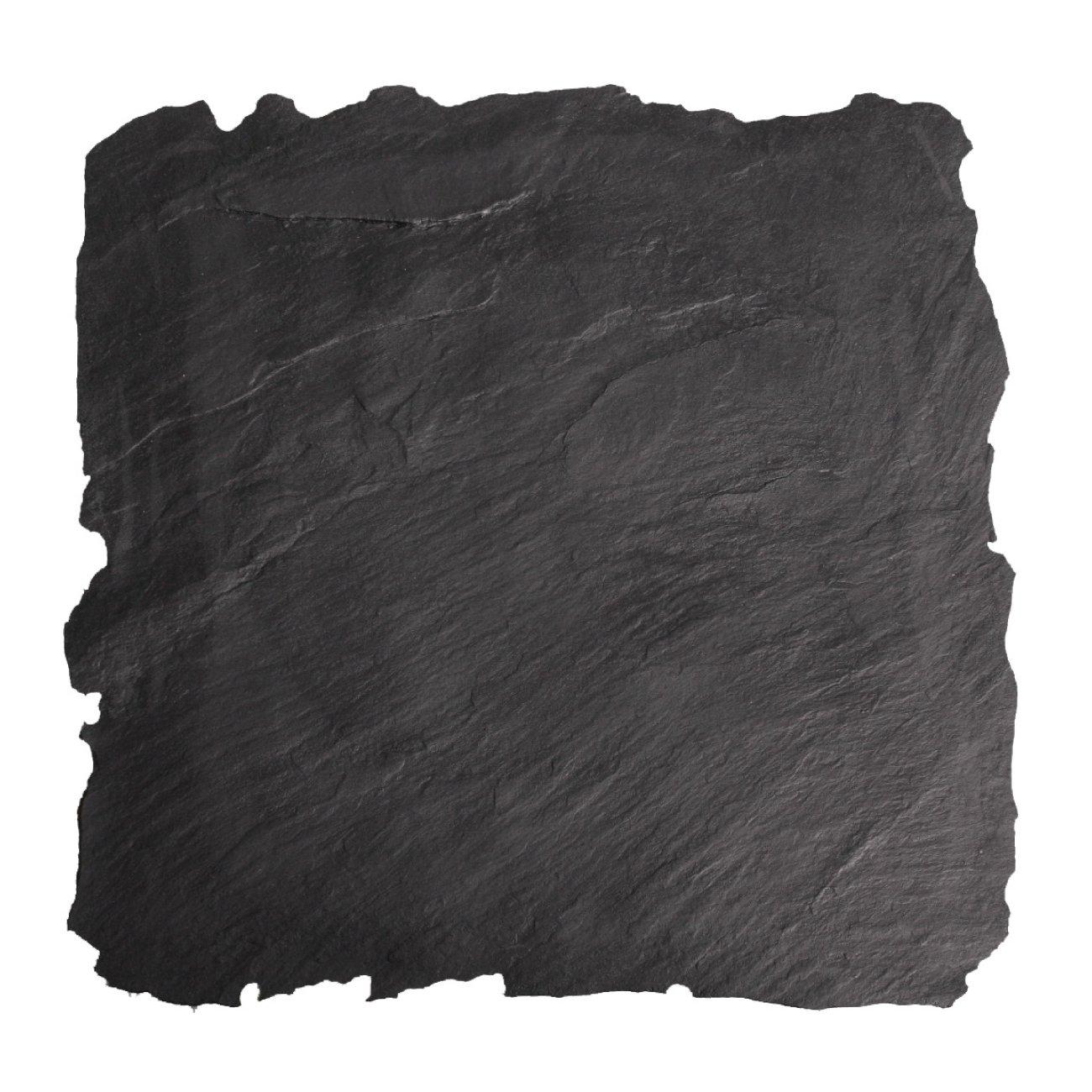 ライトスレートスタンプ(黒)90�×90�