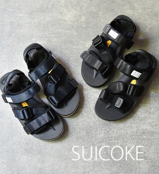 "【SUICOKE】 スイコック KISEE-V Sandal ""2Color"""