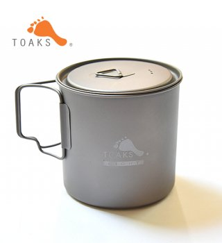 【TOAKS】 トークス Light Titanium Pot 650ml