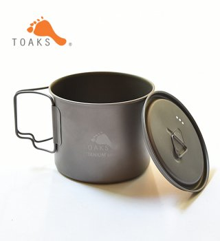 【TOAKS】 トークス Light Titanium Pot 550ml