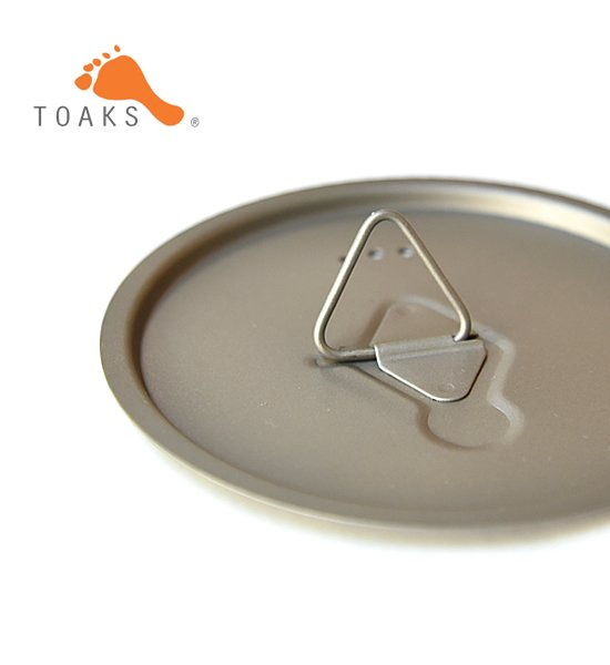 【TOAKS】 トークス Titanium Lids D80mm ※メール便可