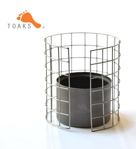 【TOAKS】 トークス Stainless Steel Stove Frame &Titanium Stove Set