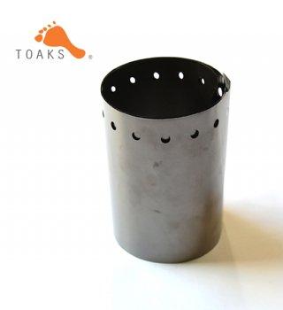 【TOAKS】 トークス Titanium Windscreen