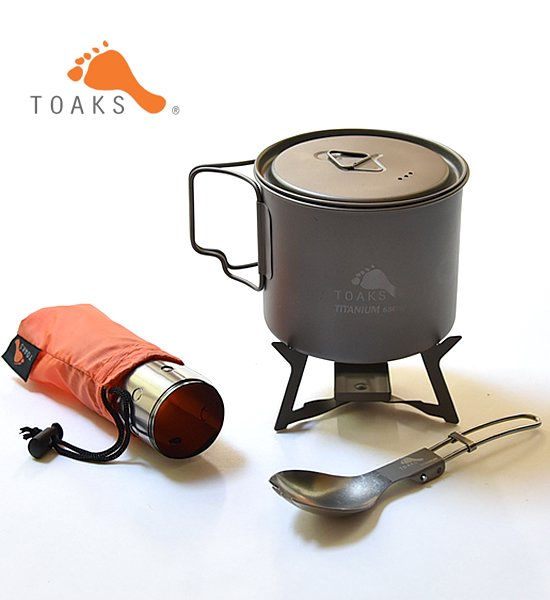【TOAKS】 トークス Ultralight Titanium Cook System