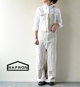 "【NAPRON】 ナプロン Salopette Apron ""2Color"