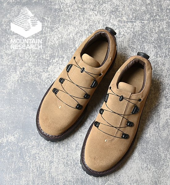 """【Mountain Research】 マウンテンリサーチ Spec Shoes """"Army"""""""