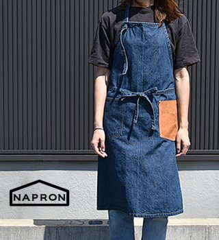 <img class='new_mark_img1' src='//img.shop-pro.jp/img/new/icons13.gif' style='border:none;display:inline;margin:0px;padding:0px;width:auto;' />【NAPRON】 ナプロン Denim Craft Apron
