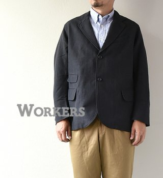 "【WORKERS】ワーカーズ Moonglow Jacket ""Wool Linen Serge"""
