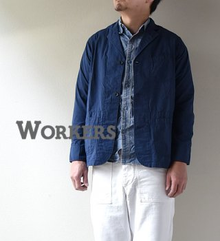 "<img class='new_mark_img1' src='//img.shop-pro.jp/img/new/icons13.gif' style='border:none;display:inline;margin:0px;padding:0px;width:auto;' />【WORKERS】 ワーカーズ Sack Coat ""Light Chambray Indigo"""