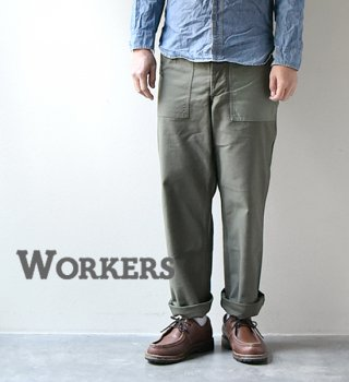 "<img class='new_mark_img1' src='//img.shop-pro.jp/img/new/icons13.gif' style='border:none;display:inline;margin:0px;padding:0px;width:auto;' />【WORKERS】ワーカーズ Baker Pants ""2Color"""