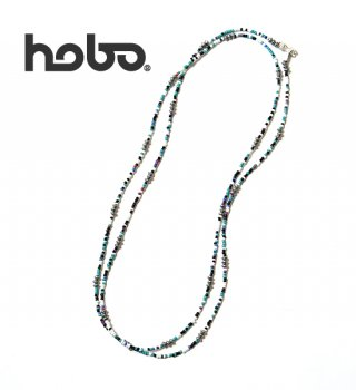 <img class='new_mark_img1' src='https://img.shop-pro.jp/img/new/icons13.gif' style='border:none;display:inline;margin:0px;padding:0px;width:auto;' />【hobo】 ホーボー Mixed Long Beads Necklace with Brass Coated Beads