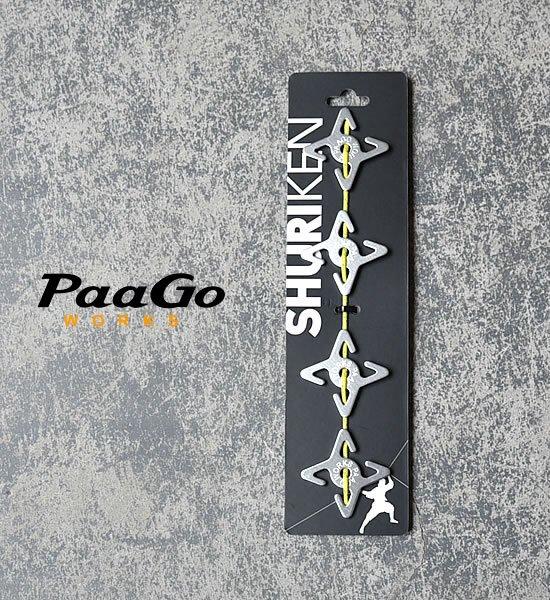 【PaaGo WORKS】 パーゴワークス SHURIKEN
