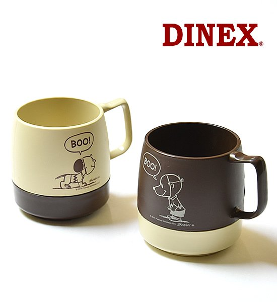 "【DINEX】 ダイネックス PEANUTS Printed 8oz.Mug ""2Color"""