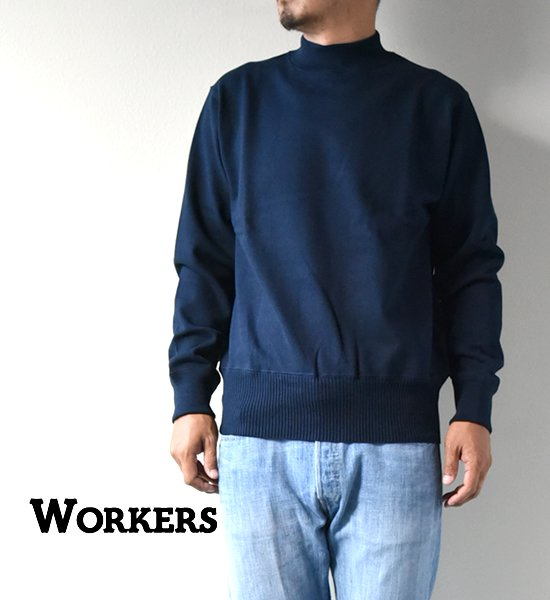 """【WORKERS】ワーカーズ Heavy Cotton Sweater """"2Color"""""""