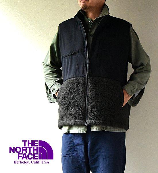 "【THE NORTH FACE PURPLE LABEL】 ノースフェイスパープルレーベル men's POLARTEC DenaliI Vest ""Charcoa…"
