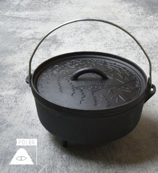 <img class='new_mark_img1' src='//img.shop-pro.jp/img/new/icons13.gif' style='border:none;display:inline;margin:0px;padding:0px;width:auto;' />【POLER】 ポーラー Campfire Dutch Oven